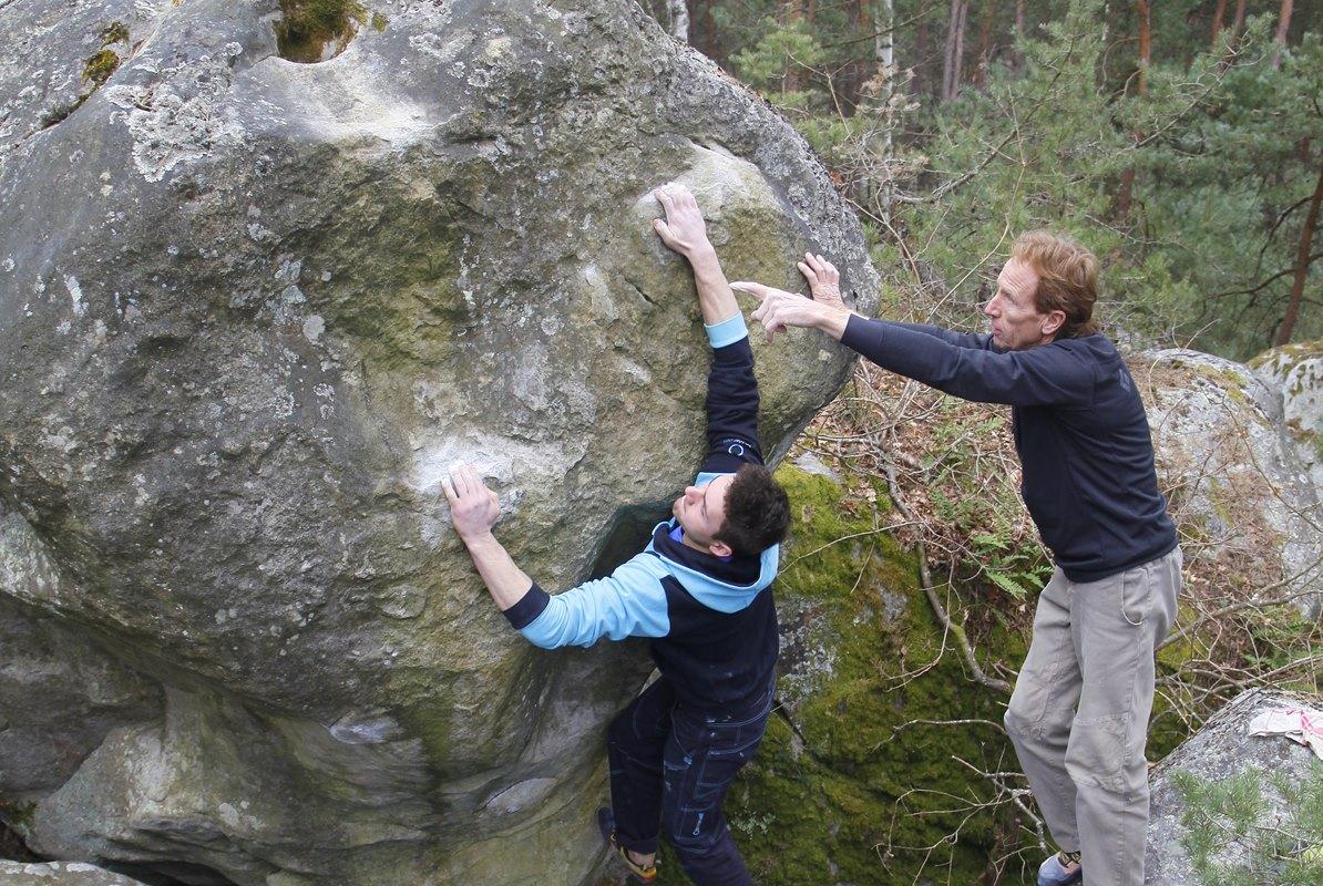 Fontainebleau 2016 Ostern Teamfahrt Manuel Lugoboni