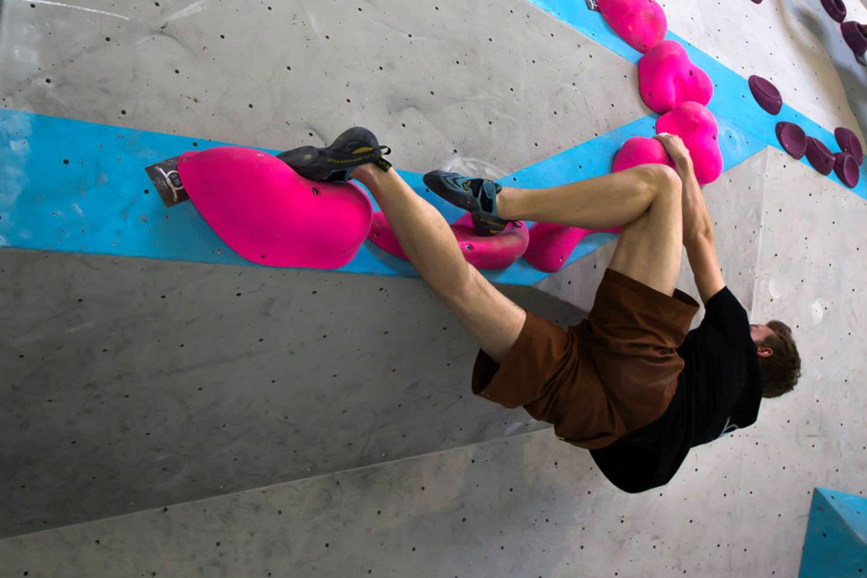 Markus Herdieckerhoff Bavarian Boulder Battle 2015