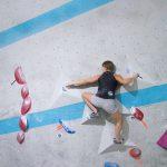 Freddy Petri beim Trainingscircuit in der Boulderwelt München Ost