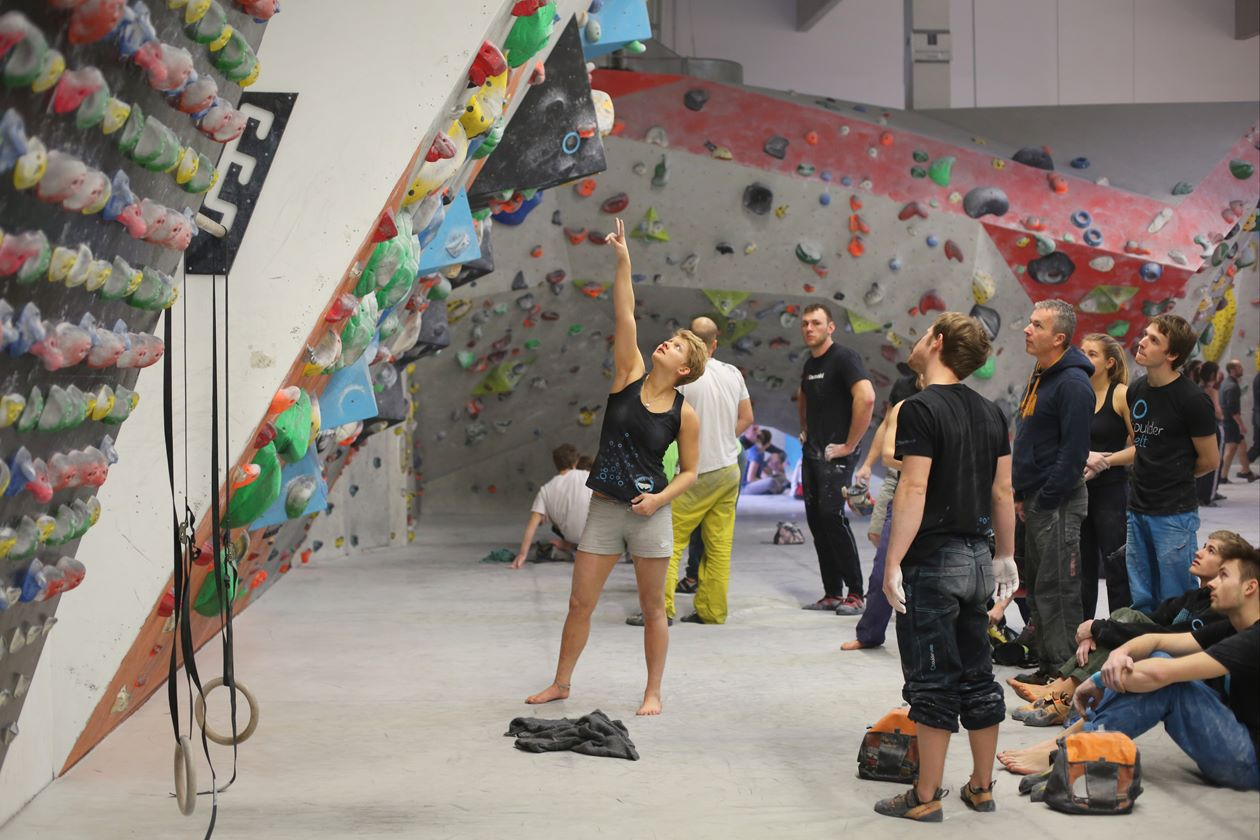 Boulderwelt Athletenteam Training Regensburg