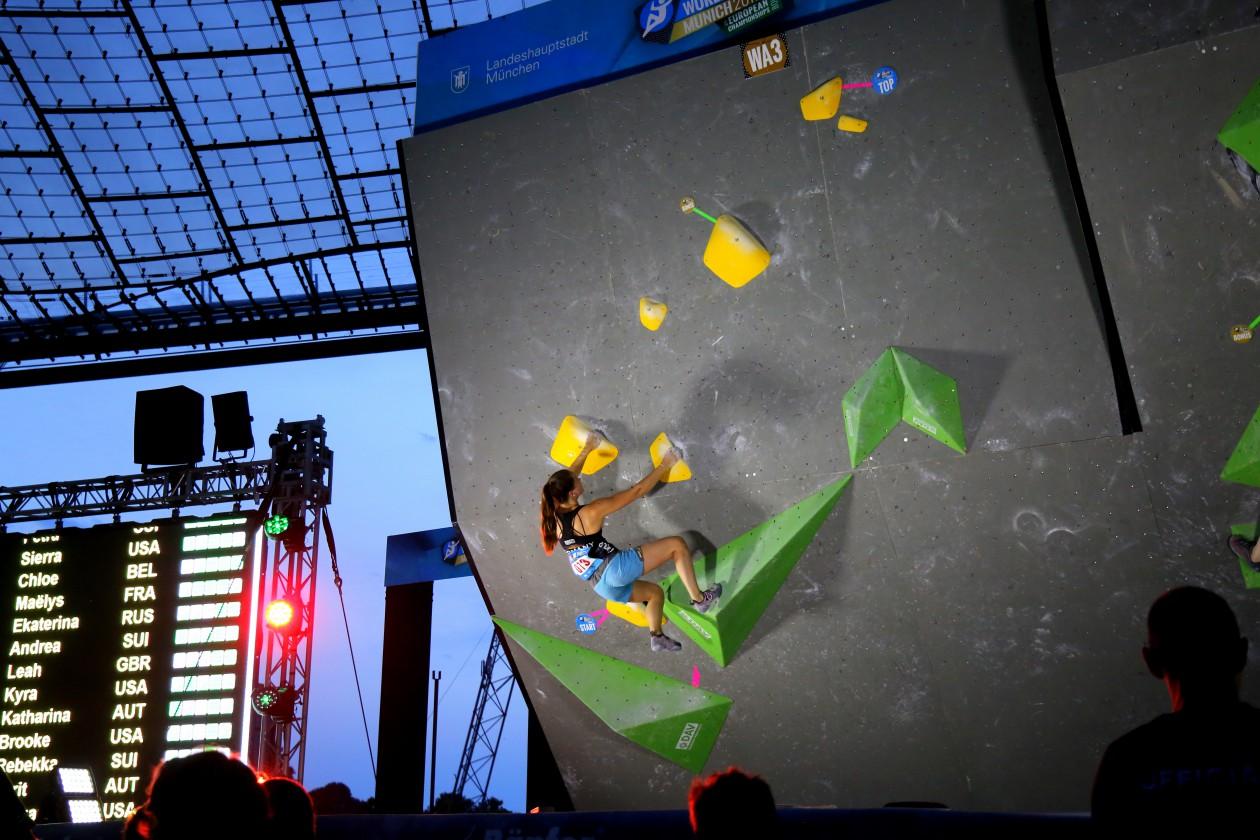 Boulderweltcup München 2017 Boulderwelt Athletenteam