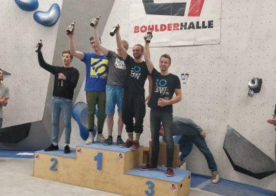Podiumsplätze für das Boulderwelt Athletenteam bei der letzten Runde der Soulmoves Süd 10 im E4