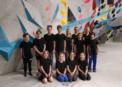 Boulderwelt Youngsters Wettkampf Simulation Bouldern
