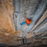 Steffen aus unserem Boulderwelt Athletenteam klettert Mind Control 8c+