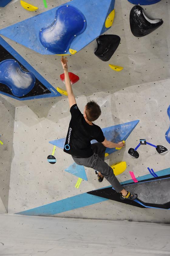 Boulderwelt Youngsters Wettkampfsimulation