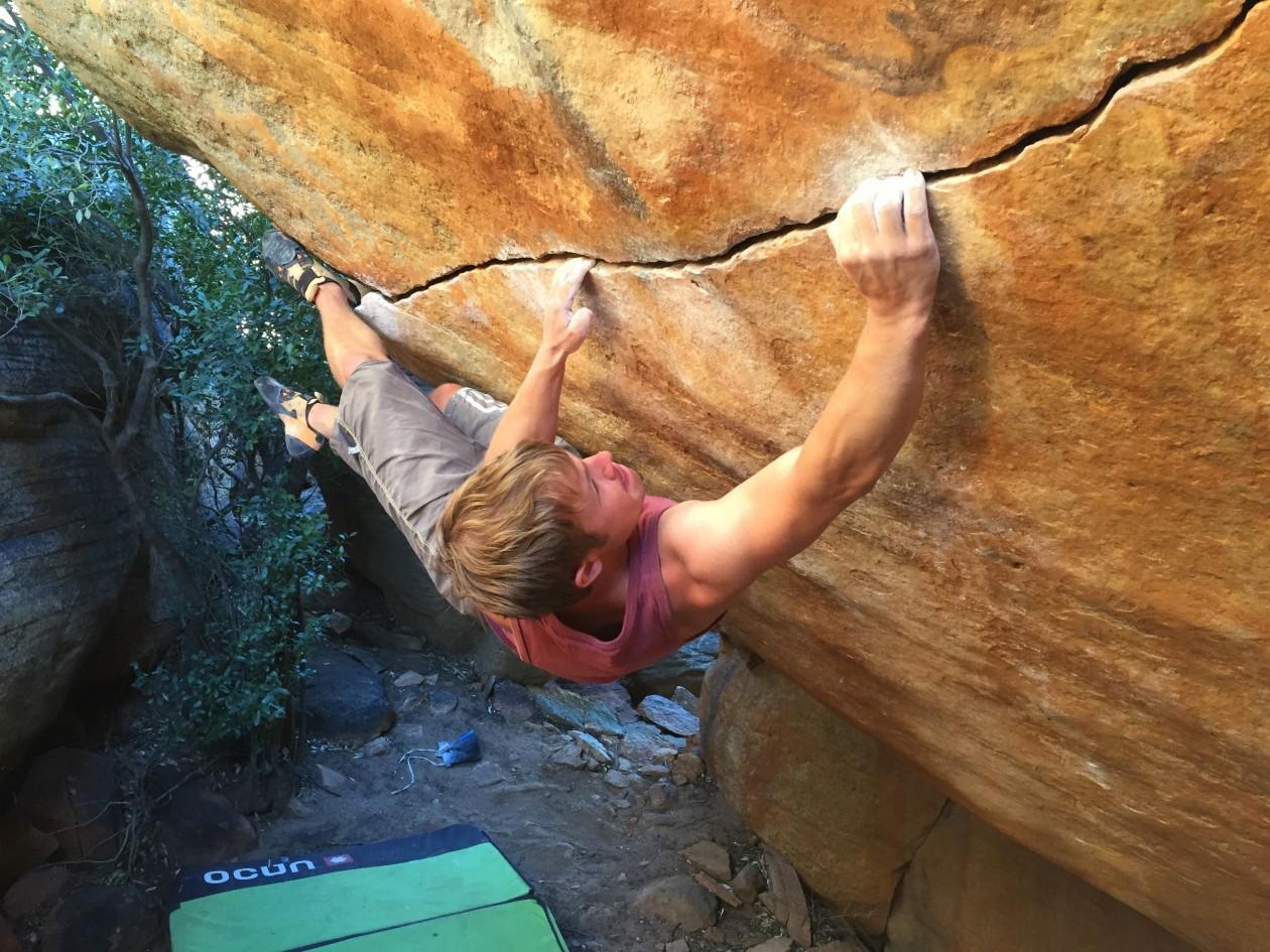 Flo aus dem Athletenteam berichtet von dem beliebten Bouldergebiet Rocklands in Süd Afrika
