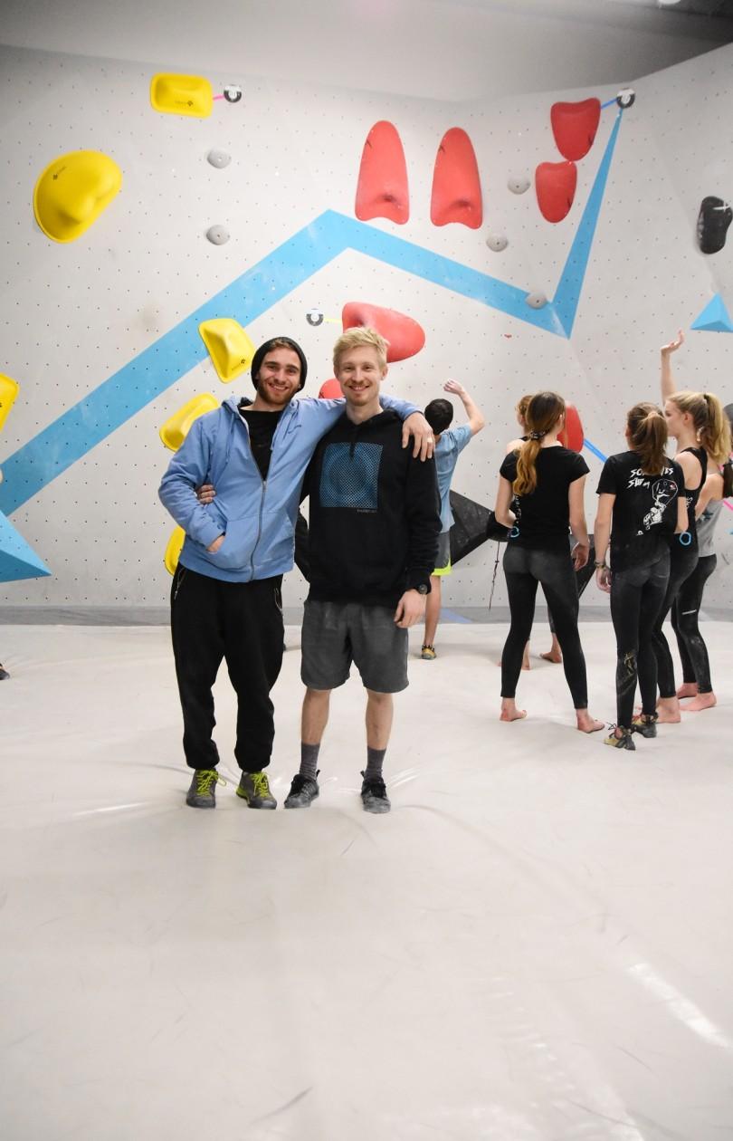 Wettkampf Simulation für unsere Boulderwelt Youngsters und Athleten in der Boulderwelt München Ost